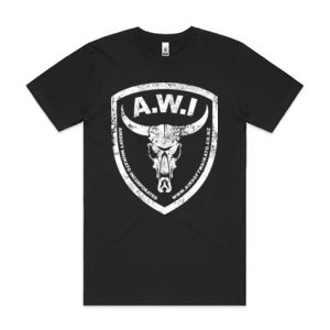 AWI Tee Distressed - with Your Name! Thumbnail