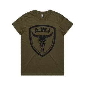 AWI Tee Army Women - with your name! Thumbnail